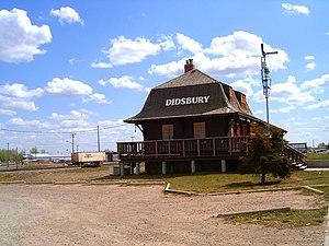 Didsbury, Alberta - Didsbury railway station