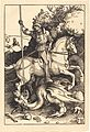 Albrecht Dürer - Saint George Killing the Dragon (NGA 1943.3.3597).jpg