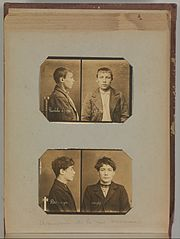 Album of Paris Crime Scenes - Attributed to Alphonse Bertillon. DP263695.jpg