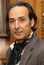 Photo of Alexandre Desplat in 2015.