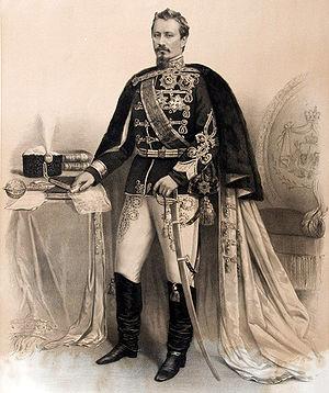 Alexandru Ioan Cuza University - Portrait of Prince Alexandru Ioan Cuza