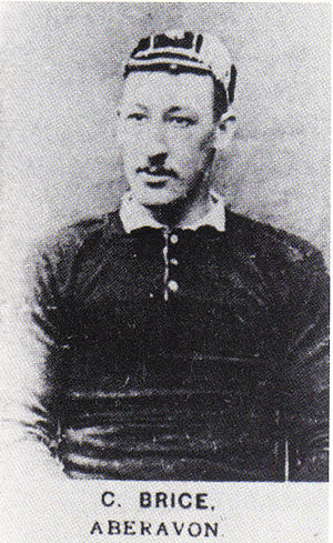 Alfred Brice - Brice in Welsh jersey