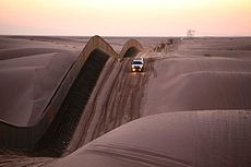 Mexico United States Barrier In California