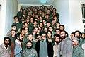 Ali Khamenei in Sepah High school - 1987.jpg