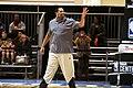 All-Star Game Weekend Robert Horry at NBA All-Star Center Court 2016 (1) (25038108245).jpg