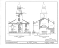All Saint's Church, 286-290 Henry Street, New York, New York County, NY HABS NY,31-NEYO,14- (sheet 4 of 10).png