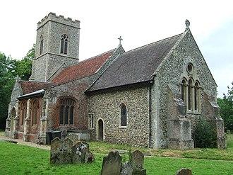 Kenton, Suffolk - Image: All Saints Kenton geograph.org.uk 1364655