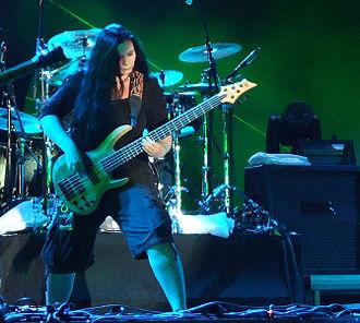 Alla Fedynitch - Alla with Atrocity at Kavarna Rock Fest 2010