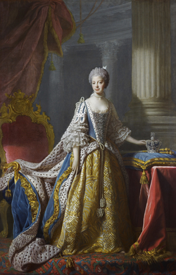 Allan ramsay   queen charlotte (royal collection)