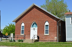 National Register of Historic Places listings in Logan County, Illinois - Image: Allen Chapel AME, Lincoln