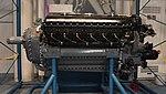 Allison V-1710 reciprocating engine left side view at Kakamigahara Aerospace Science Museum November 2, 2014.jpg