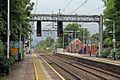 Along platform 1, Alsager railway station (geograph 4524963).jpg