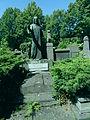 Alphonse Meulemeester, his family tomb..JPG