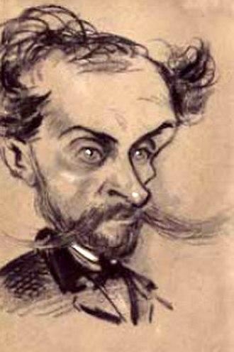 Alphonse Royer - Alphonse Royer (caricature by Nadar ca. 1857)