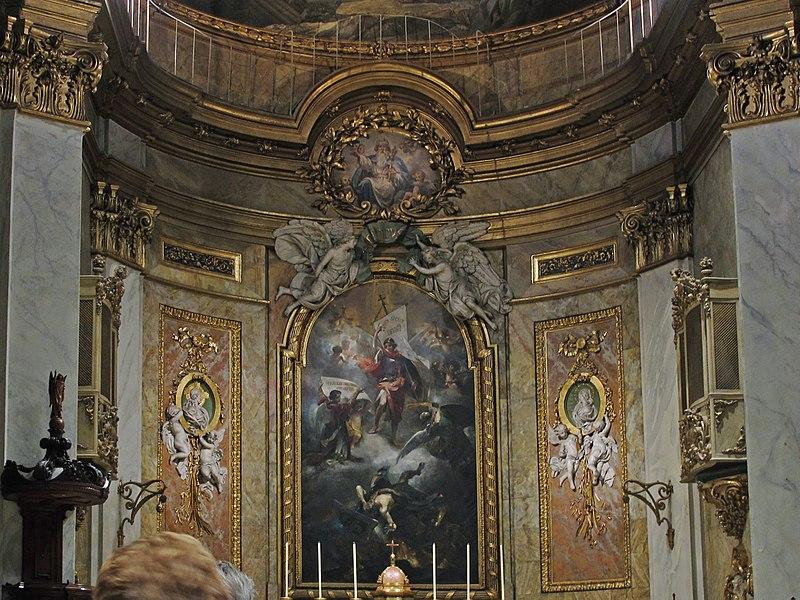 Altar Mayor, en la Basílica Pontificia de San Miguel (Madrid).jpg