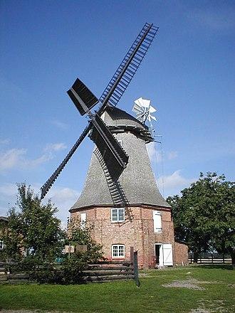 Altkalen - A Windmill near Altkalen