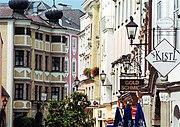 Das Altstadtviertel im Zentrum von Linz
