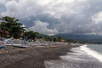Amed (Bali) - Amed Beach in February