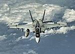 An F-A-18E transits the Bismarck Sea en route to RAAF Base Townsville, Queensland, Australia.jpg