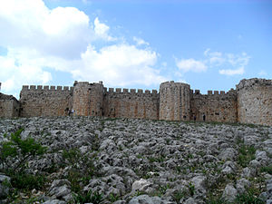 SİT areas in Turkey - Image: Anavarza Castle