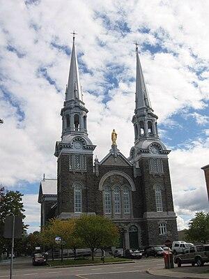 L'Ancienne-Lorette, Quebec - Image: Ancienne Lorette church 1