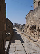 Ancient Paved Road at Bosra, Syria..jpg