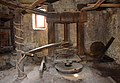 Ancient oil press in olive oil production workshop in Trsteno 03.jpg