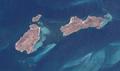 Anderson Islands, Tasmania, Landsat-7.png