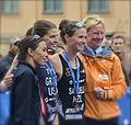 Andrea Hewitt, Sarah Groff, Nicky Samuels, ITU Stockholm 2014.jpg