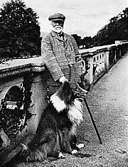 Andrew Carnegie at Skibo Castle, 1914