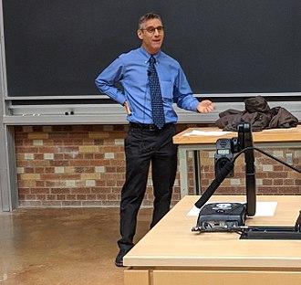 Andrew Gelman - Speaking at the University of Washington in 2017.