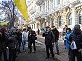 Andriy Yusov on the Western people march, Odessa 1.jpg