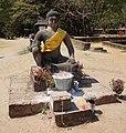 Angkor Thom statue Leper King.jpg