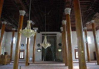 Aslanhane Mosque - Image: Ankara Arslanhani Camii Innen