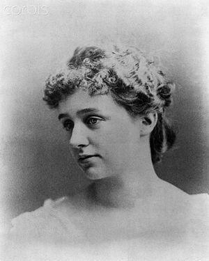 Anna Hall Roosevelt - Roosevelt in the 1880s