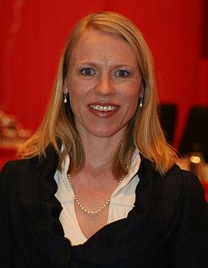 Anniken Huitfeldt, member of Stortinget (the N...