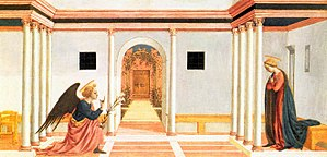 Domenico Veneziano - Annunciation