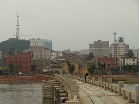 Bourg de Shuitou (ville-district de Nan'an) et le Pont d'Anping
