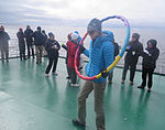 Antarctic Circle Celebration.JPG