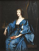 Anthony van Dyck - Queen Henrietta Maria of England - KMSsp240 - Statens Museum for Kunst.jpg