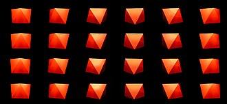 Square antiprism - Image: Antiprisma Base Quadrada