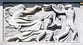 Antoine Bourdelle, 1910-12, Apollon et sa méditation entourée des neuf muses, bas-relief, Théâtre des Champs-Élysées, Paris DSC09314.jpg