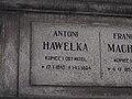 Antoni Hawelka grave Rakocki 0215.JPG