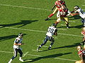 Antonio Pittman rushes at Rams at 49ers 11-16-08 1.JPG