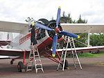 Antonov An2 LZ-919 at MKT Noonamah in January 2011.jpg