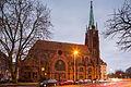 Apostelkirche church Celler Strasse Gretchenstrasse Oststadt Hannover Germany.jpg