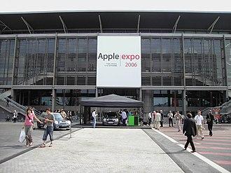 Apple Expo - Apple Expo 2006 at Hall 5, Parc des Expositions de Paris.