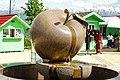 Apple fountain (Kok Tobe Park).jpg