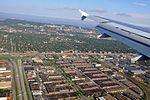 Approche à YUL 24R (vue aérienne de Montréal) (5045461846) (2).jpg
