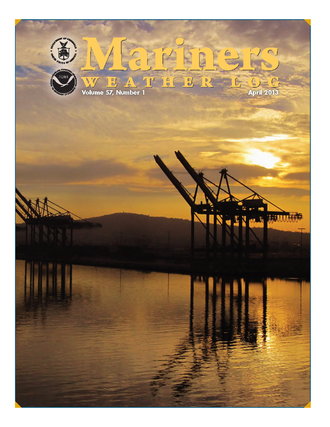 Mariners Weather Log - Image: April 2013MWLcover